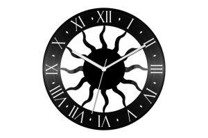 klasszikus bakelit óra