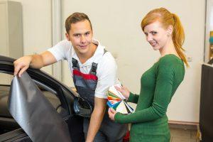 Budapesten autódekor matricák